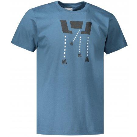 Pánské triko ALTISPORT ALM048129 DENIM