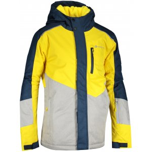 Dětská lyžařská bunda ALPINE PRO SARDARO 3 KJCS201 ŽLUTÁ