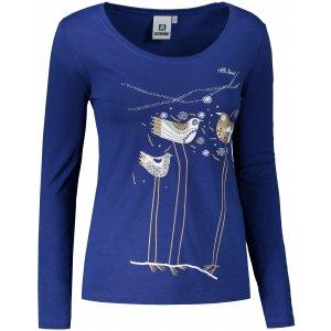 Dámské triko s dlouhým rukávem ALTISPORT ALW043169 KRÁLOVSKÁ MODRÁ