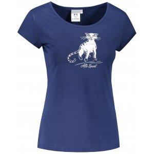 Dámské triko ALTISPORT ALW052122 PŮLNOČNÍ MODRÁ