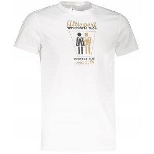 Pánské triko ALTISPORT ALM049129 BÍLÁ