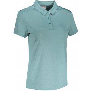 Dámské funkční triko s límečkem PEAK POLO T SHIRT FW602568 CERAM GREEN