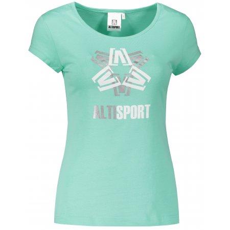 Dámské triko ALTISPORT ALW046122 MÁTOVÁ