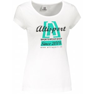 Dámské triko ALTISPORT ALW047122 BÍLÁ