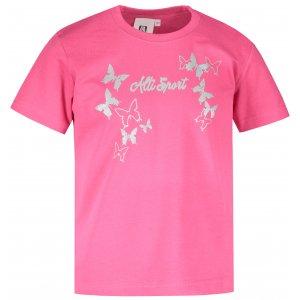 Dětské triko ALTISPORT ALK011138 MALINOVÁ