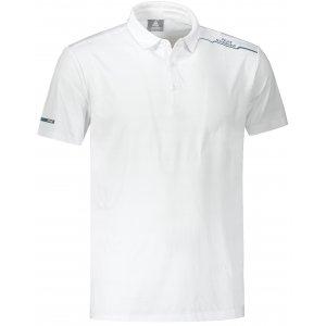 Pánské funkční triko s límečkem PEAK POLO T SHIRT FW602567 WHITE