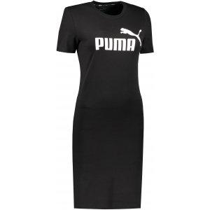 Dámské šaty PUMA ESS SLIM TEE DRESS PUMA BLACK