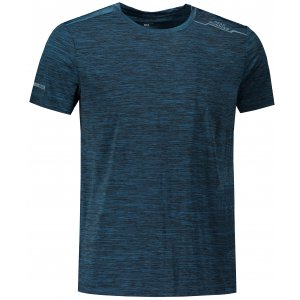 Pánské funkční triko PEAK ROUND NECK T SHIRT FW602707 DARK TURQUOISE