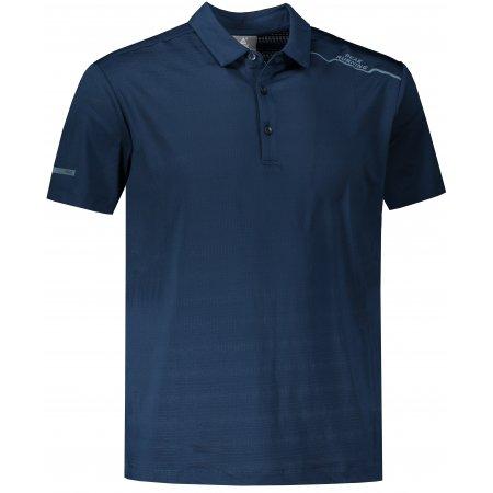 Pánské funkční triko s límečkem PEAK POLO T SHIRT FW602569 DARK TURQUOISE