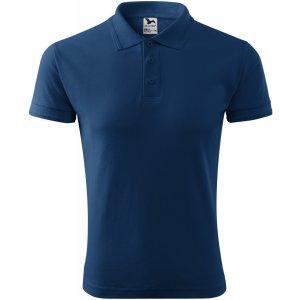 Pánské triko s límečkem MALFINI PIQUE POLO 203 PŮLNOČNÍ MODRÁ