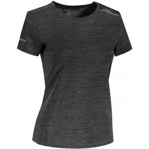 Dámské funkční triko PEAK ROUND NECK T SHIRT FW602708 BLACK MELANGE GREY