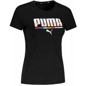 Dámské triko PUMA MULTICOLOURED TEE PUMA BLACK