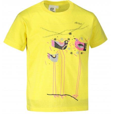 Dětské triko ALTISPORT ALK043138 CITRÓNOVÁ
