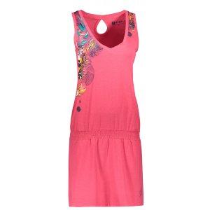 Dámské šaty ALTISPORT ELAXA LSKT335 RŮŽOVÁ