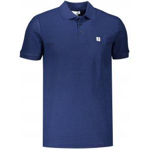 Pánské triko s límečkem ALTISPORT ALM065203 PŮLNOČNÍ MODRÁ