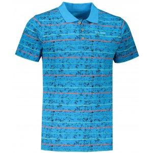 Pánské triko s límečkem ALTISPORT LEVIN MTST646 MODRÁ