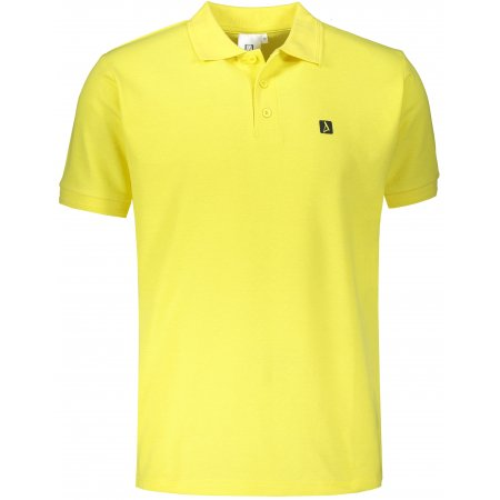 Pánské triko s límečkem ALTISPORT ALM065203 CITRÓNOVÁ