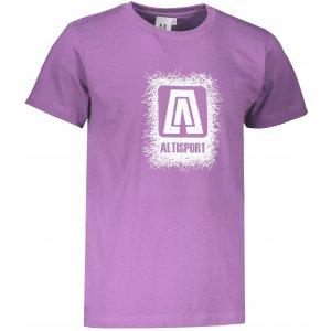 Pánské triko ALTISPORT ALM064129 FIALOVÁ