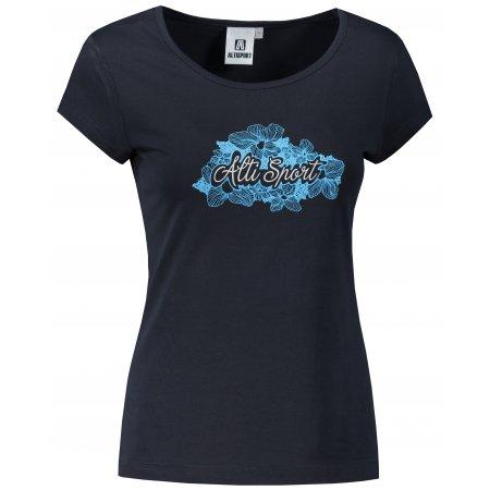 Dámské triko ALTISPORT ALW057122 NÁMOŘNÍ MODRÁ