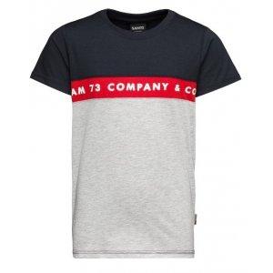 Chlapecké triko s krátkým rukávem SAM 73 TYLER BT 548 TMAVĚ MODRÁ