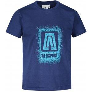 Dětské triko ALTISPORT ALK064138 PŮLNOČNÍ MODRÁ
