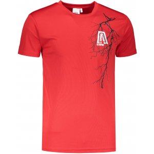 Pánské funkční triko ALTISPORT ALM027124 ČERVENÁ