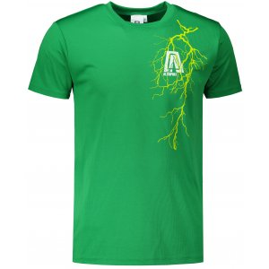 Pánské funkční triko ALTISPORT ALM027124 STŘEDNĚ ZELENÁ