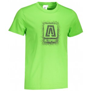 Pánské triko ALTISPORT ALM064129 APPLE GREEN