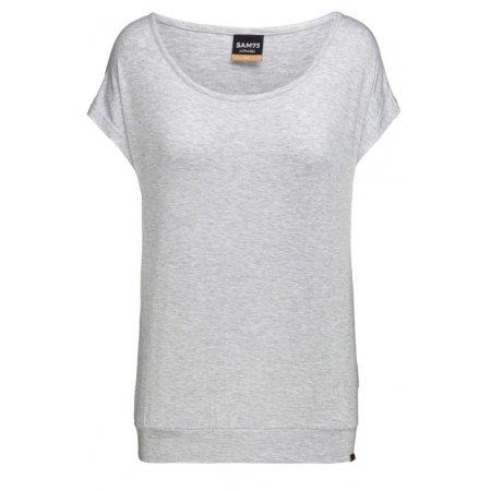 Dámské triko s krátkým rukávem SAM 73 RUTH WT 819 ŠEDÁ