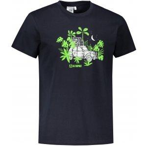 Pánské triko ALTISPORT ALM059129 NÁMOŘNÍ MODRÁ