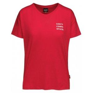 Dámské triko s krátkým rukávem SAM 73 SIAN WT 820 ČERVENÁ