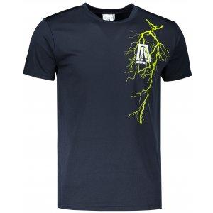 Pánské funkční triko ALTISPORT ALM027124 NÁMOŘNÍ MODRÁ