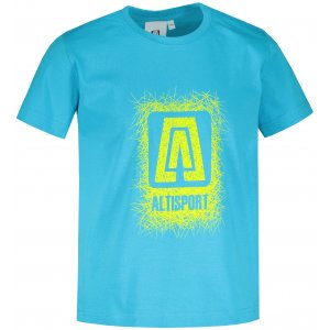 Dětské triko ALTISPORT ALK064138 TYRKYSOVÁ