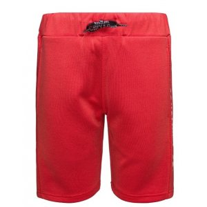 Chlapecké šortky SAM 73 EDDIE BS 533 ČERVENÁ