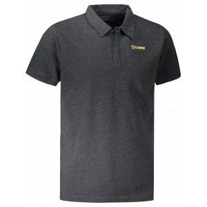 Pánské triko s límečkem ALTISPORT WELLYN MTST647 ČERNÁ