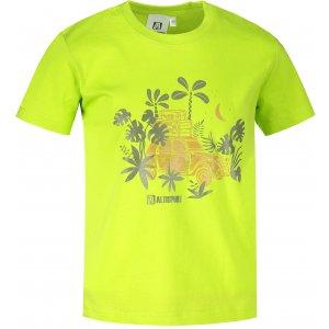 Dětské triko ALTISPORT ALK059138 LIMETKOVÁ