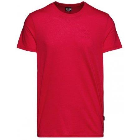 Pánské triko s krátkým rukávem SAM 73 TOBIAS MT 776 ČERVENÁ