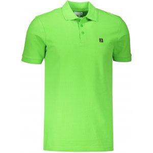 Pánské triko s límečkem ALTISPORT ALM065203 APPLE GREEN