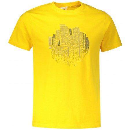 Pánské triko ALTISPORT ALM060129 ŽLUTÁ