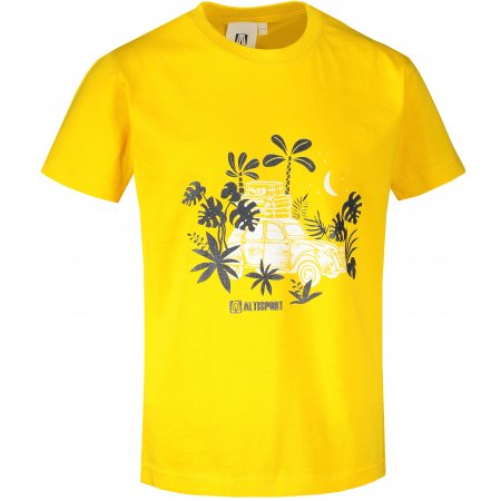 Dětské triko ALTISPORT ALK059138 ŽLUTÁ