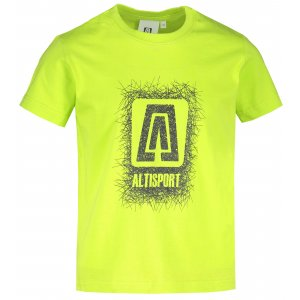Dětské triko ALTISPORT ALK064138 LIMETKOVÁ