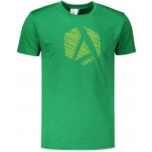 Pánské funkční triko ALTISPORT ALM033124 STŘEDNĚ ZELENÁ