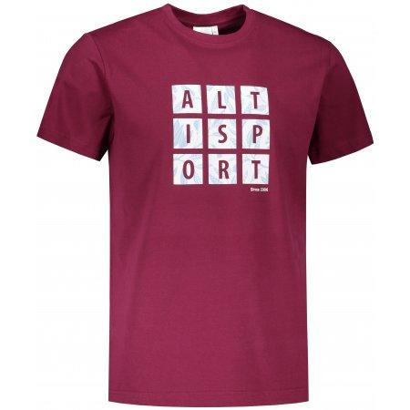 Pánské triko ALTISPORT ALM063129 FUCHSIOVÁ