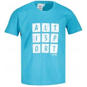 Dětské triko ALTISPORT ALK063138 TYRKYSOVÁ
