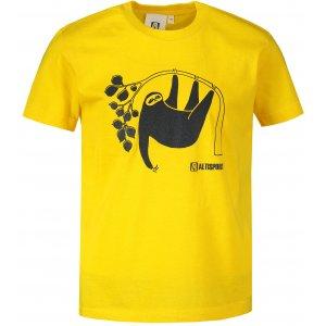 Dětské triko ALTISPORT ALK070138 ŽLUTÁ