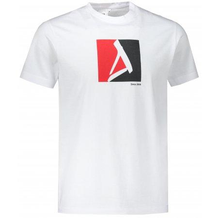 Pánské triko ALTISPORT ALM069129 BÍLÁ