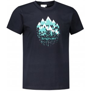 Pánské triko ALTISPORT ALM068129 NÁMOŘNÍ MODRÁ