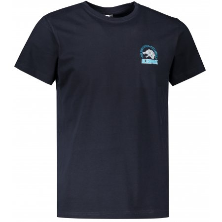 Pánské triko ALTISPORT ALM071129 NÁMOŘNÍ MODRÁ