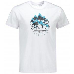 Pánské triko ALTISPORT ALM068129 BÍLÁ