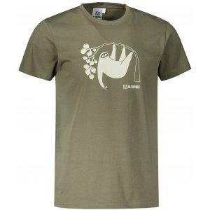 Pánské triko ALTISPORT ALM070129 KHAKI
